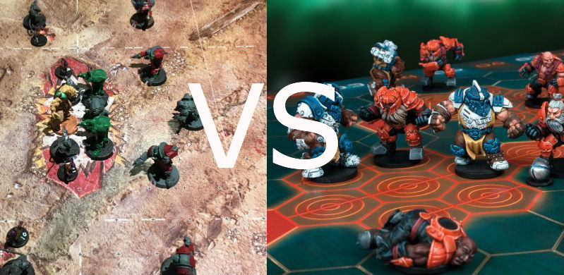 Dreadball vs Blood Bowl pt 3