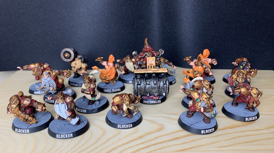Blood Bowl – Dwarf Team